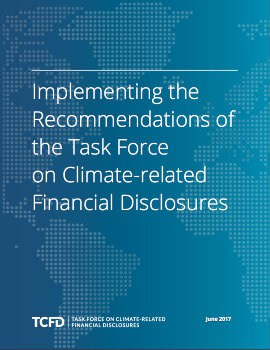 Implementing the Recommendations of the Task Force on Climate-related Financial Disclosures